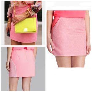 Ted Baker • Juleen Boucle Mini Skirt Sz 2